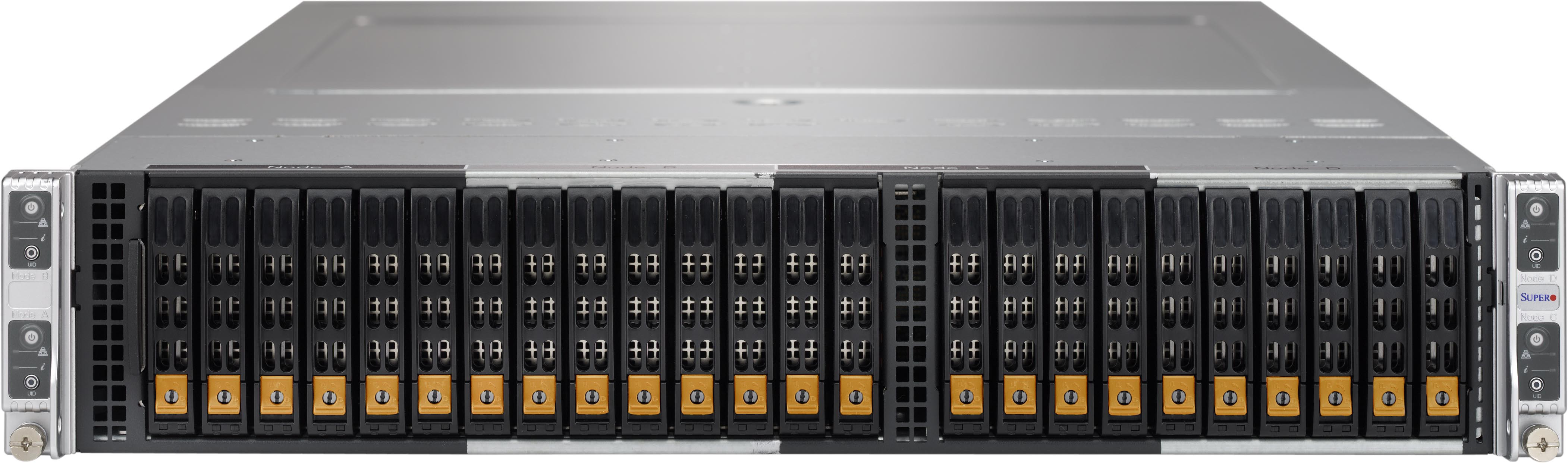 Supermicro BigTwin NVMe Review: The 2U 4-node NVMe chassis