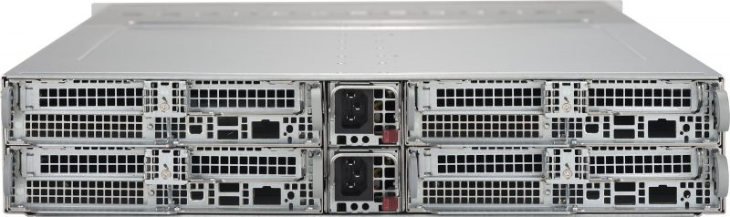 Supermicro SYS 2028BT HNR+NVMe Rear