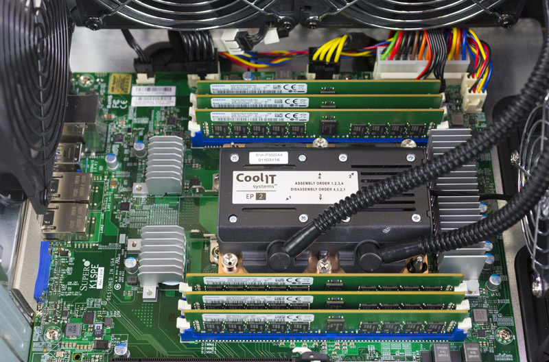 Supermicro SYS 5038K I ES1 CoolIT Systems And RAM