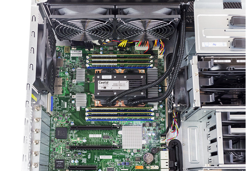 Supermicro SYS 5038K I ES1 Internal