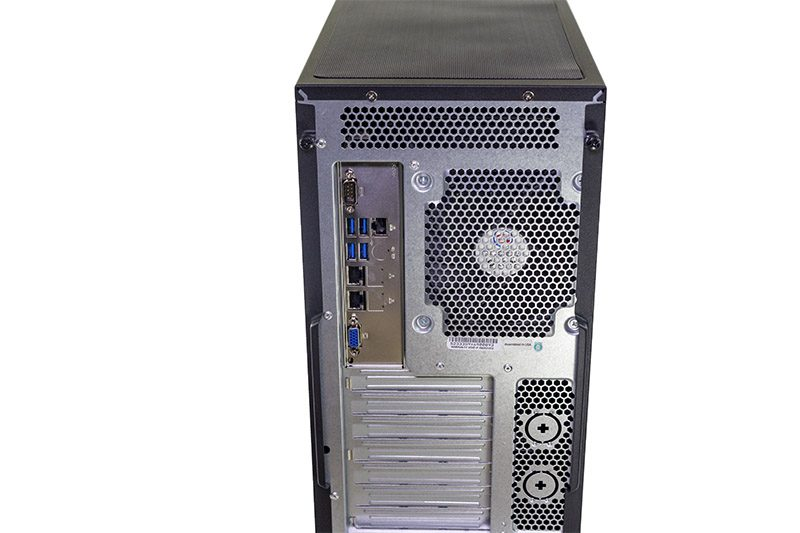 Supermicro SYS 5038K I ES1 Rear