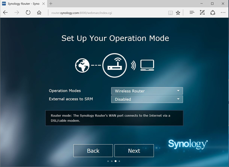 Synology RT2600ac Setup #4