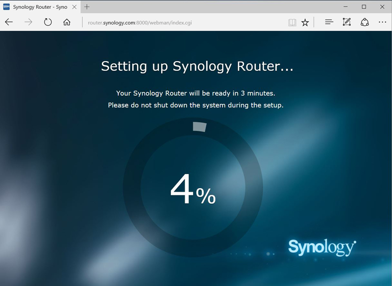 Synology RT2600ac Setup #6