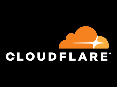 Cloudflare Logo Black Sth