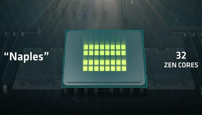 AMD Naples 32 Zen Cores