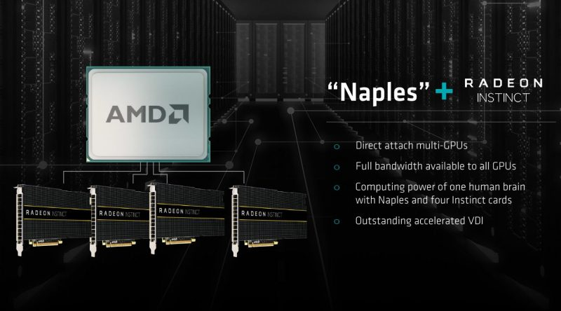 AMD Naples Radeon Instinct
