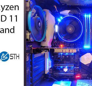 AMD Ryzen 03 FreeBSD 11 ZFS NVMe Title