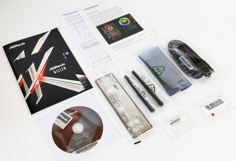 ASRock X370 KILLER SLIac Accessories