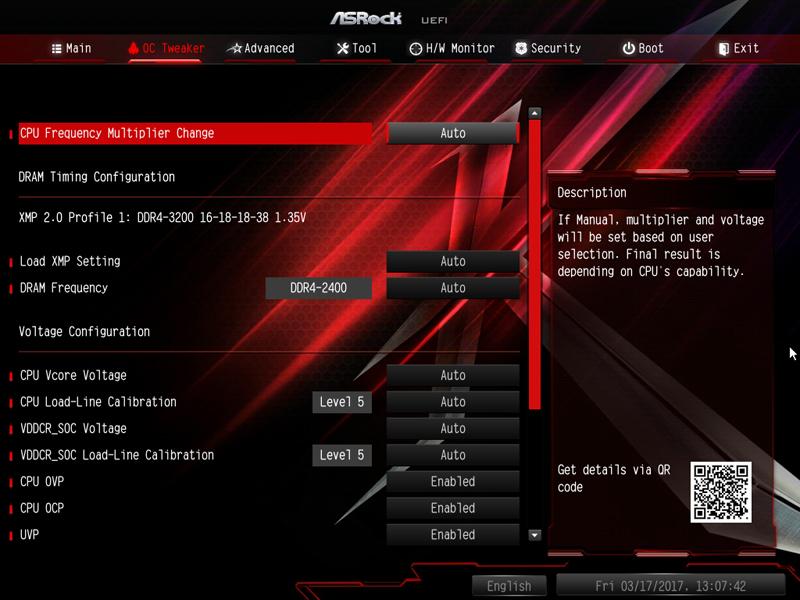 ASRock X370 KILLER SLIac BIOS 2