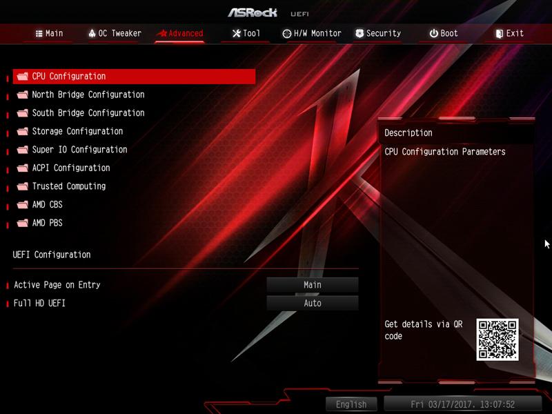 ASRock X370 KILLER SLIac BIOS 3