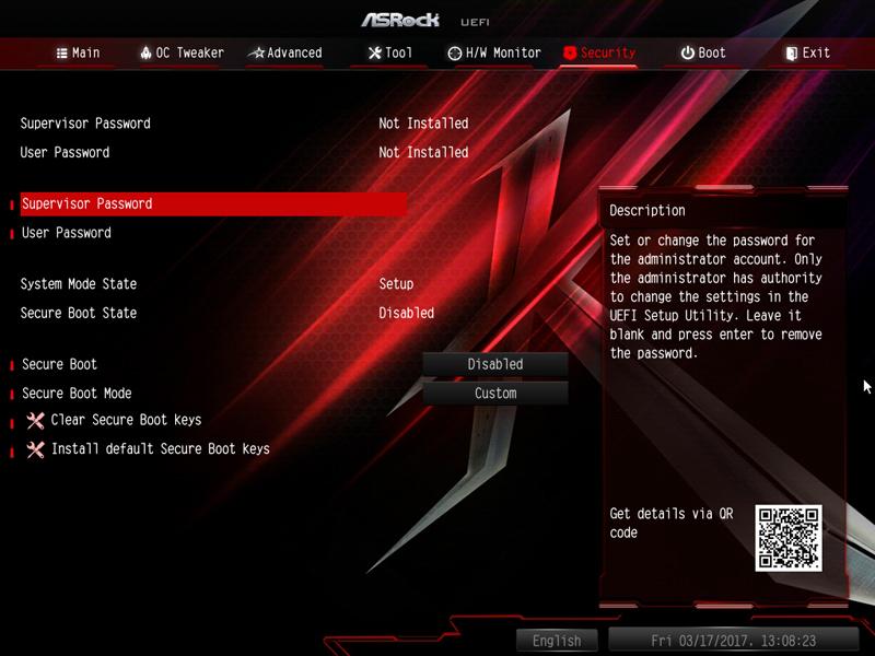 ASRock X370 KILLER SLIac BIOS 7