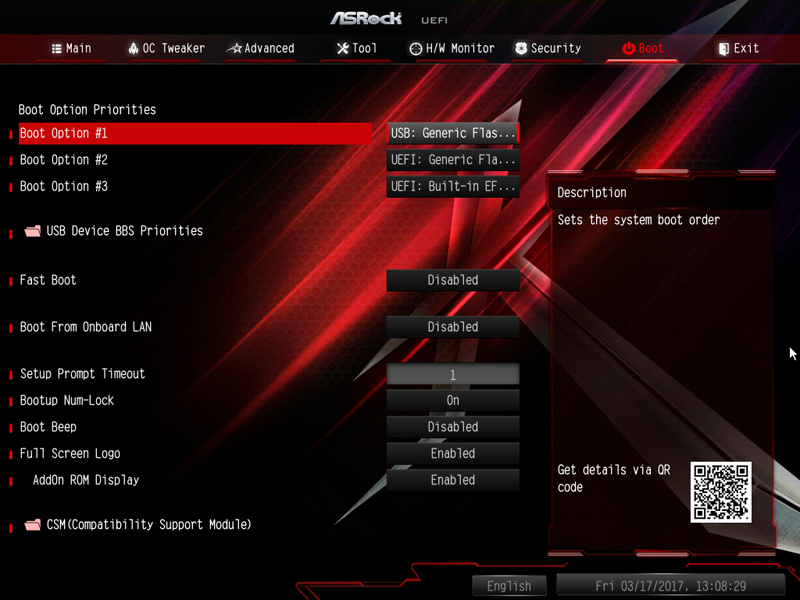 ASRock X370 KILLER SLIac BIOS 8