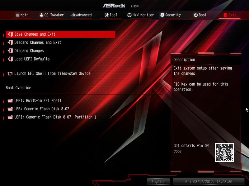 ASRock X370 KILLER SLIac BIOS 9