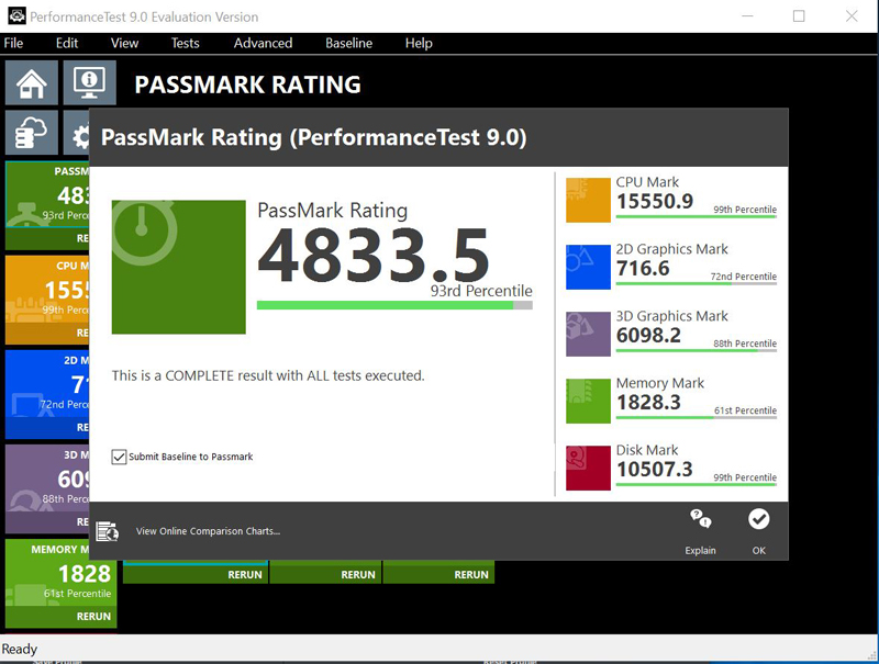 ASRock X370 KILLER SLIac Passmark 9 Full Results