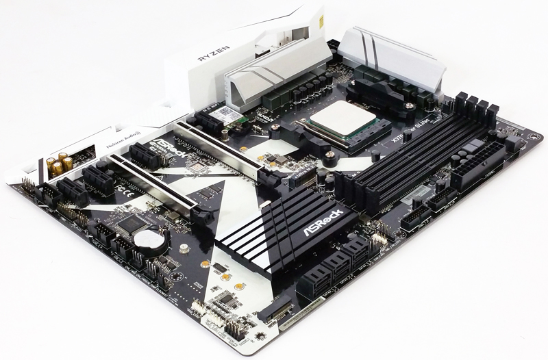 ASRock X370 KILLER SLIac Quarter View