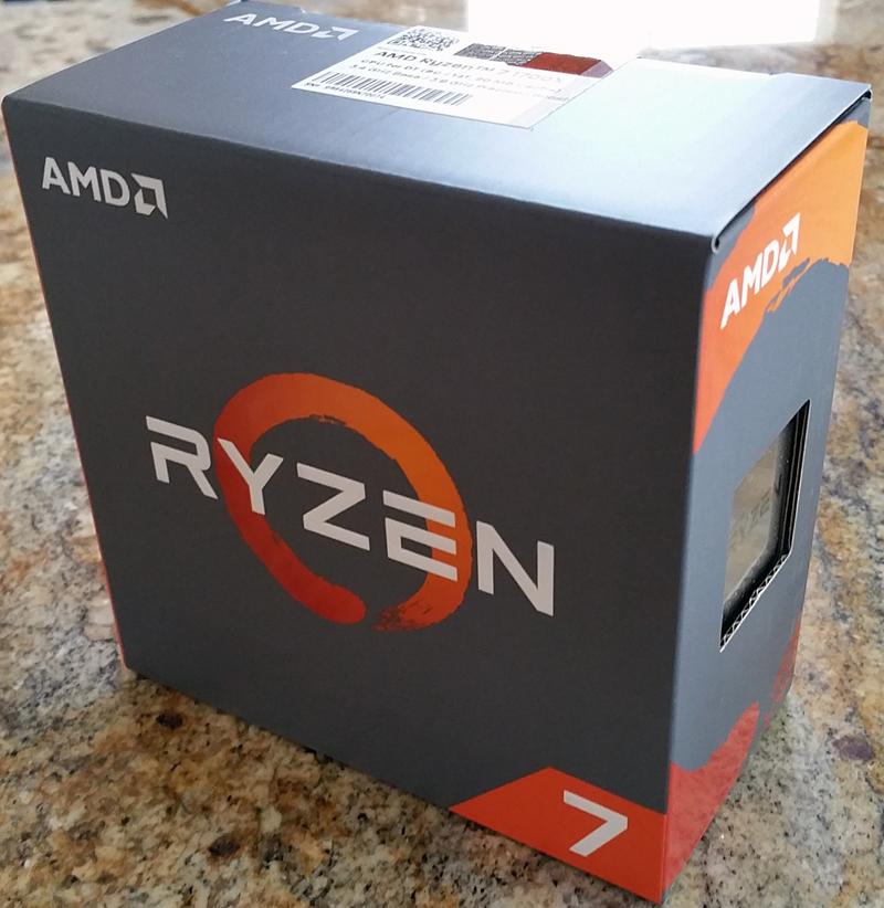ASRock X370 KILLER SLIac Ryzen 1700x Retail Box