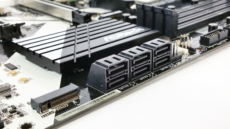 ASRock X370 KILLER SLIac Storage Ports