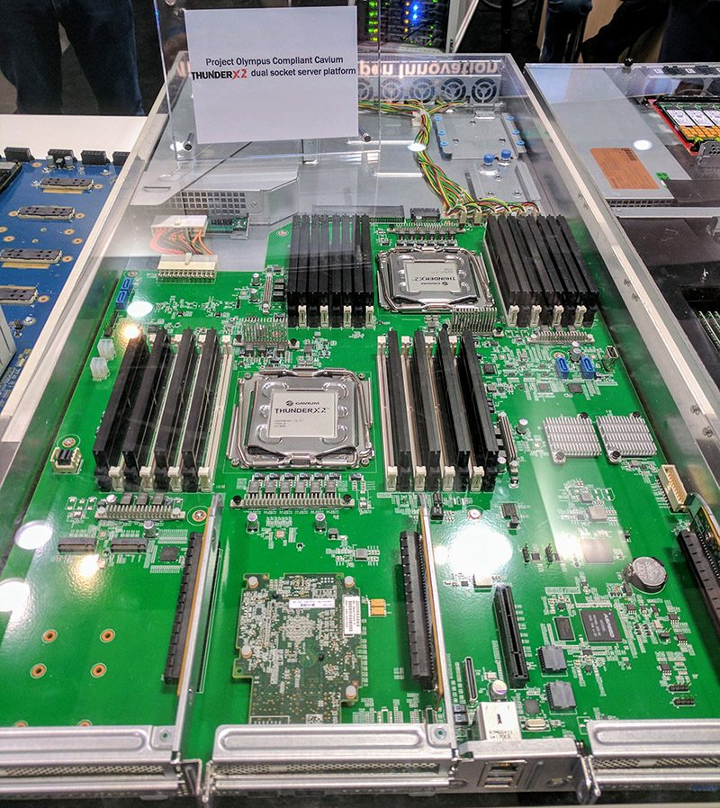 Cavium ThunderX 2 In Project Olympus Compliant Server OCP