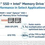 Intel Optane Intel Memory Drive Technology MySQL 675GB DB
