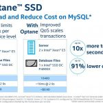 Intel Optane SSD DC P4800X MySQL 1 5TB Database Intel Cache
