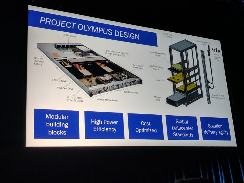 Microsoft at Open Compute Summit 2017: AI and ARM64 with