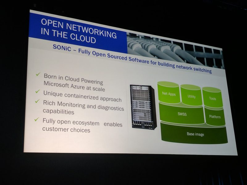Microsoft OCP Summit SONiC Open Networking