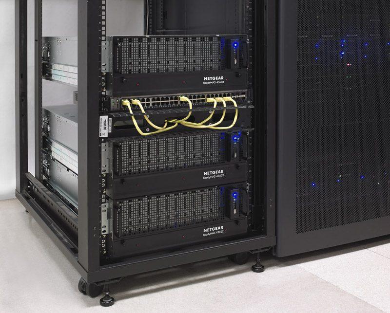 Netgear ReadyNAS RR4360X Racked