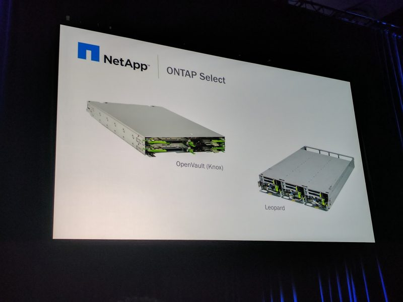 OCP Summit 2017 NetApp ONTAP Select