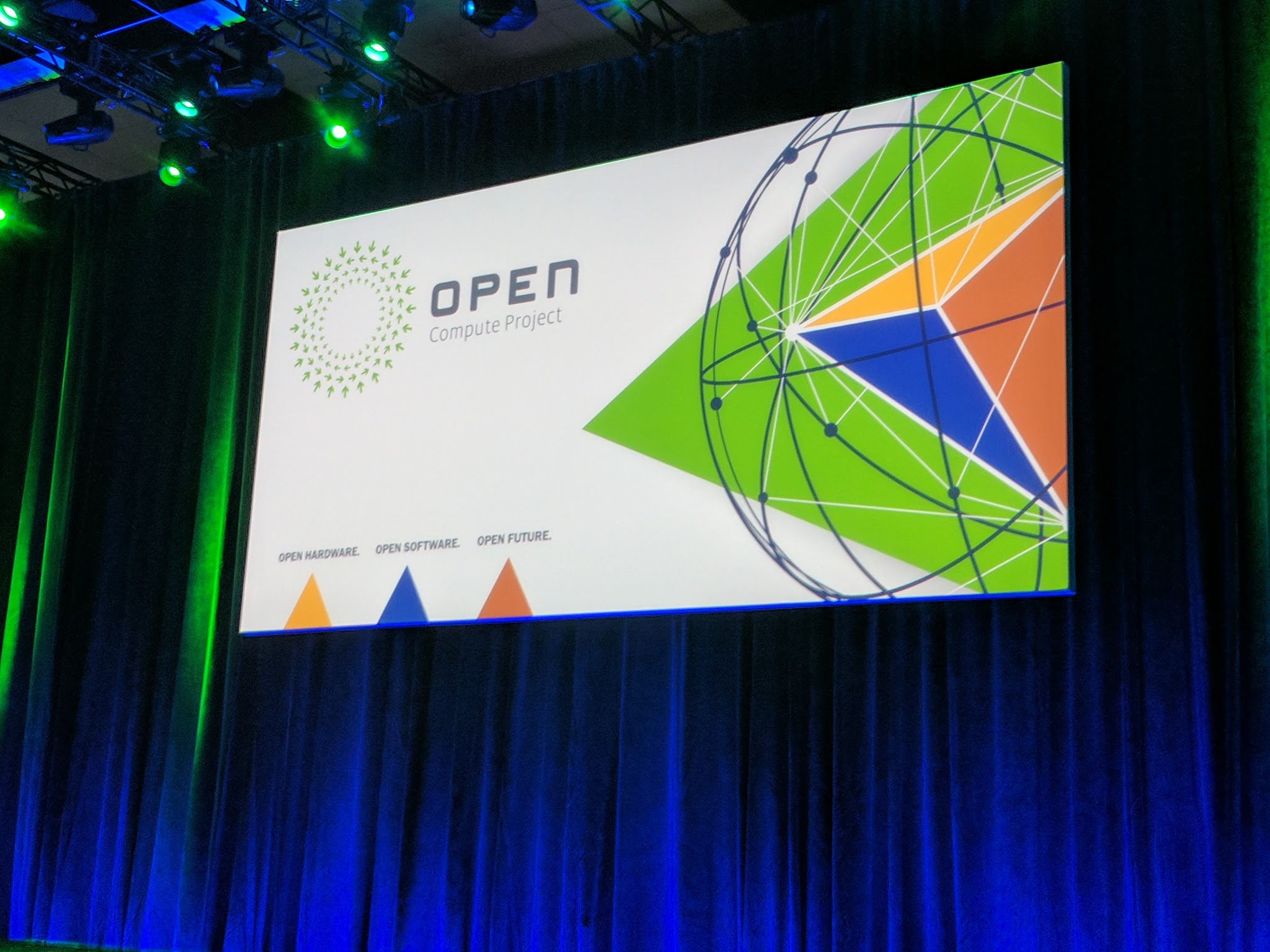 Open Compute Project Summit 2017 Stage