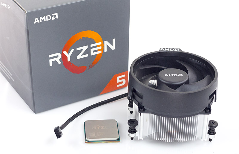 AMD Ryzen 5 1500X Package