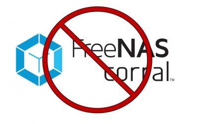 FreeNAS Corral Finished