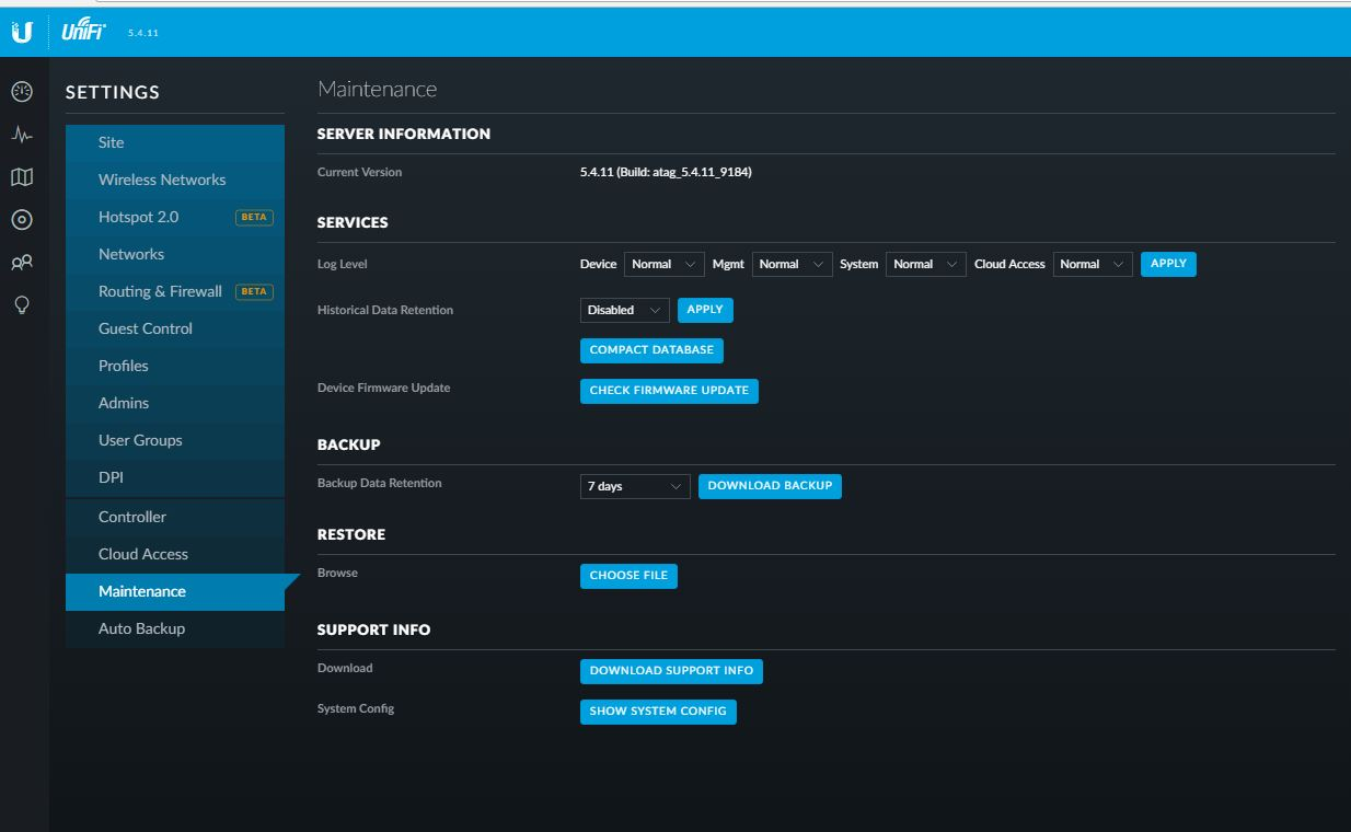 Quick Tips for Running a Ubiquiti UniFi Controller on