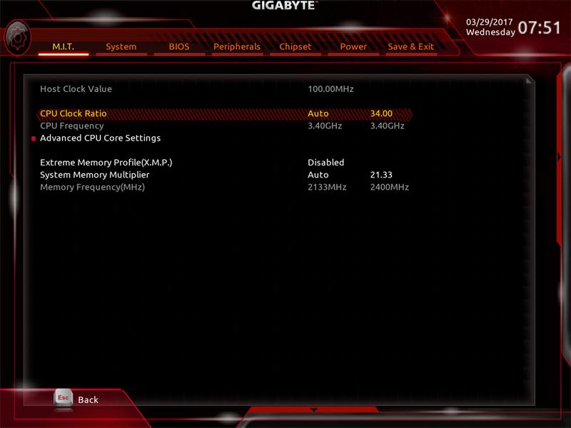 Gigabyte AB350M Gaming 3 BIOS 2
