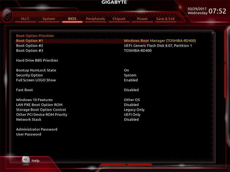 Gigabyte AB350M Gaming 3 BIOS 5