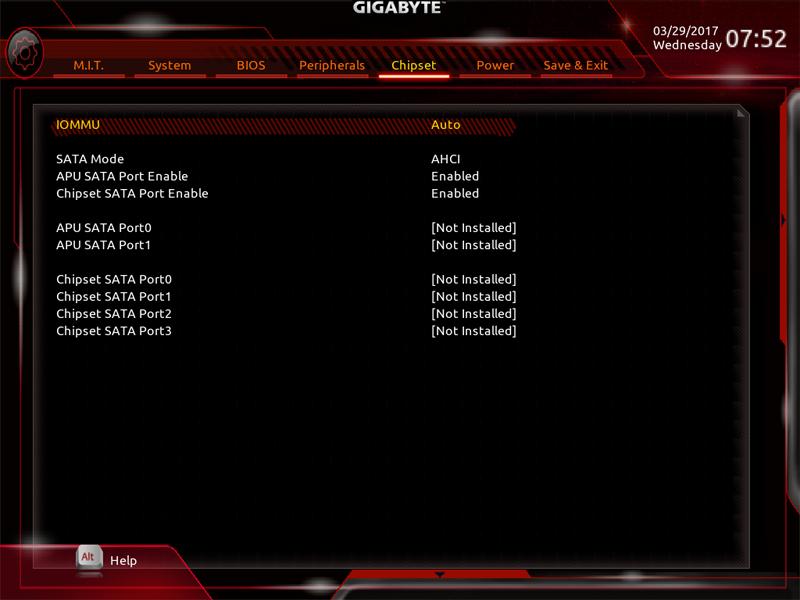 Gigabyte AB350M Gaming 3 BIOS 7