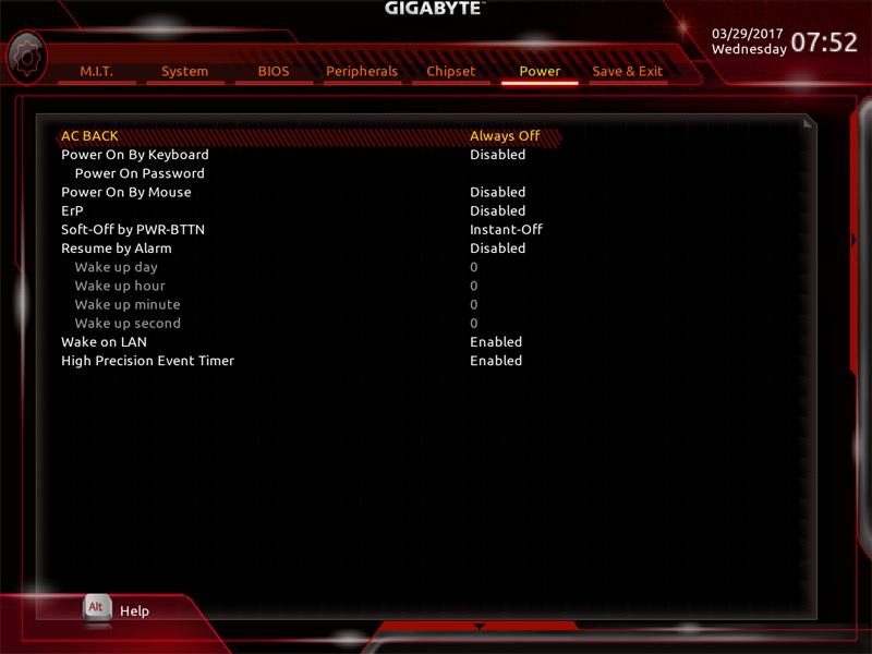 Gigabyte AB350M Gaming 3 BIOS 8