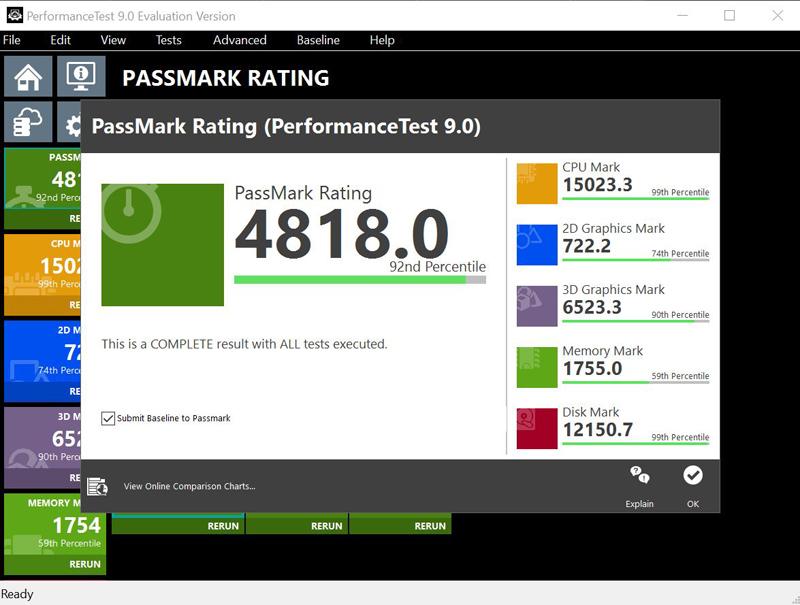 Gigabyte AB350M Gaming 3 Passmark 9 Full