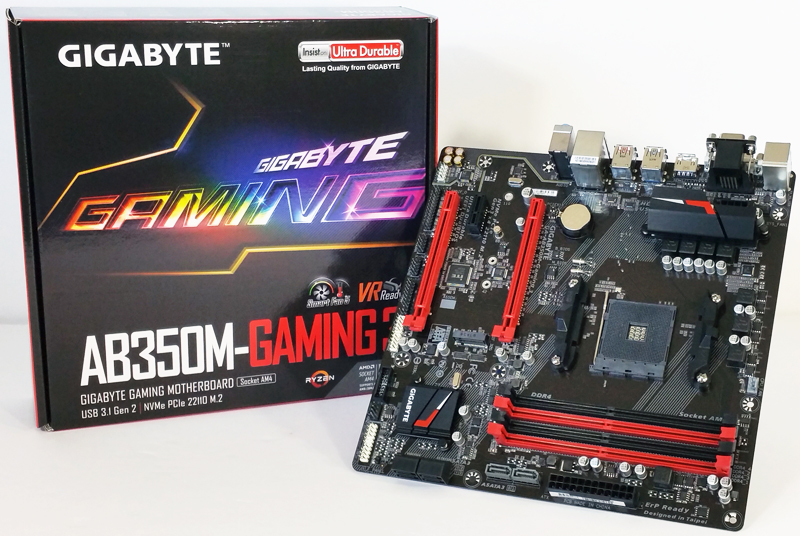 Gigabyte AB350M-Gaming 3 Motherboard Review: A small form