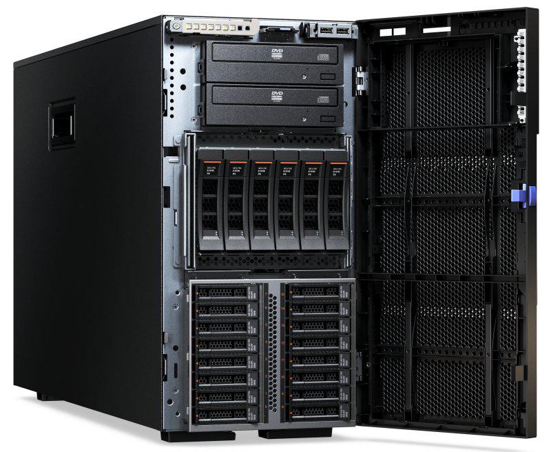 Lenovo X3500 M5 5464EEU Front Open