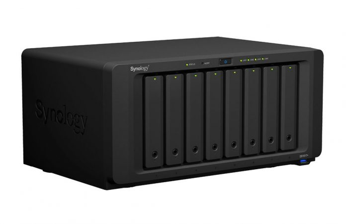 Synology DS1817+ Front Three Quarters