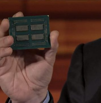 AMD EPYC Four Die With Infinity Fabric