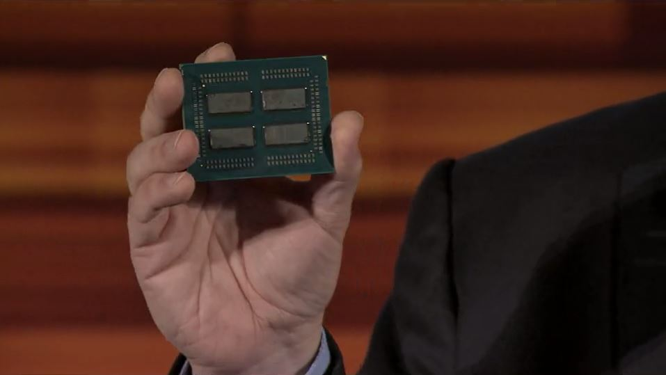 AMD EPYC Four Die With Infinity Fabric