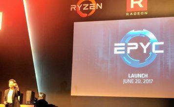 AMD EPYC Launch June 20 2017