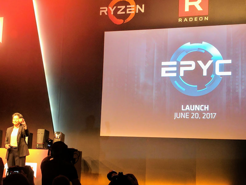AMD EPYC Launch June 20 2017