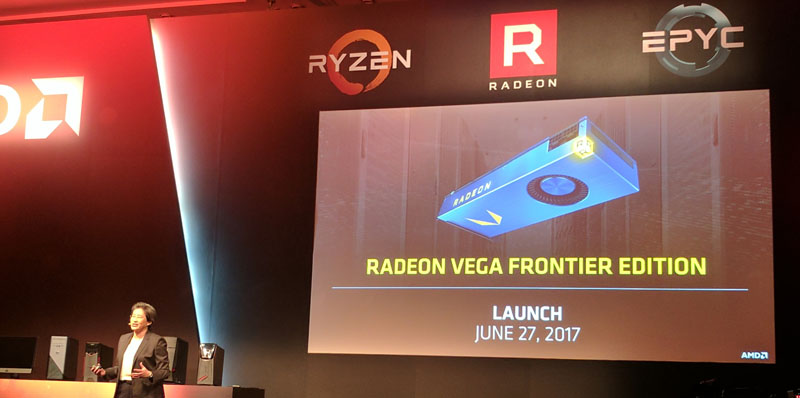 AMD Vega Frontier Launch June 2017