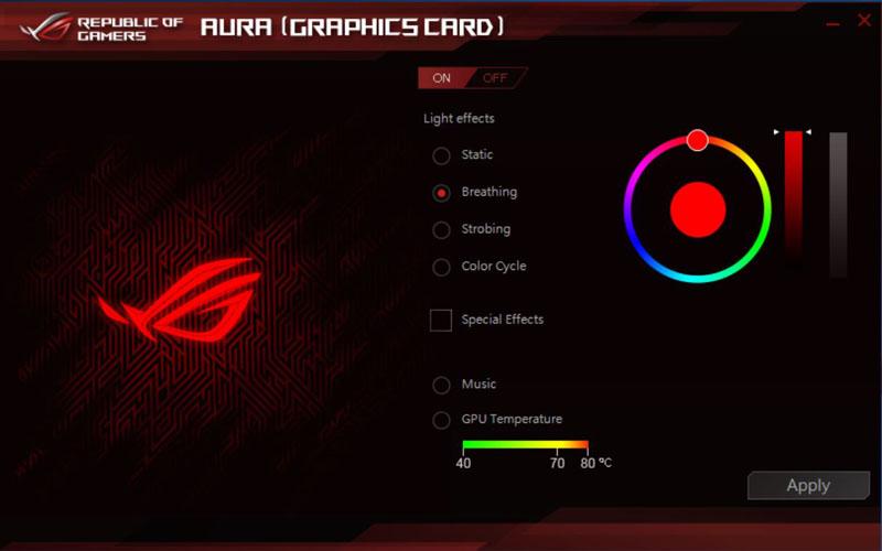 ASUS ROG STRIX GeForce GTX 1080 TI OC Aura