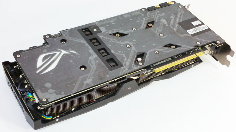ASUS ROG STRIX GeForce GTX 1080 TI OC Back