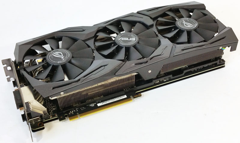 ASUS ROG STRIX GeForce GTX 1080 Ti 11GB OC Edition Graphics