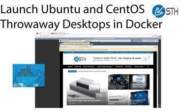 Docker Ubuntu And CentOS Desktops Using NoVNC Title