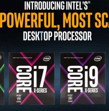 Intel Core X Series Boxes